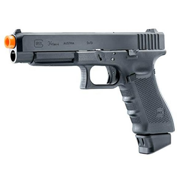 Wearable4U Airsoft Pistol 2 Umarex Glock G34 Gen4 C02 Blowback Deluxe (VFC) Airsoft Pistol BB Air Soft Gun with Wearable4U Bundle