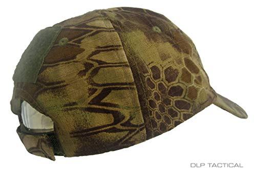 DLP Tactical Tactical Hat 4 DLP Tactical Camo Operator Hat Baseball Cap with Hook and Loop Fastener Panels
