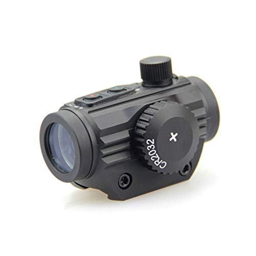 ZHRLQ Rifle Scope 5 ZHRLQ Internal Red Dot Sight, High Magnification Bird-Free Mirror with No Magnification, High Shock-Resistant Waterproof Silver-Plated Film
