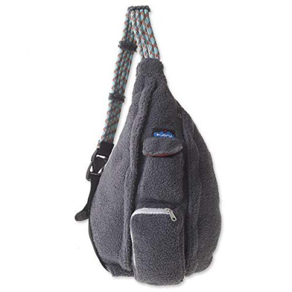 KAVU Tactical Backpack 2 KAVU Rope Fleece Bag Sling Crossbody Sherpa Backpack Travel Purse