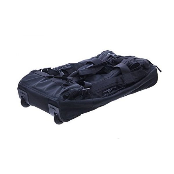 ForceProtector Gear Tactical Backpack 5 Collapsible Deployer Loadout Bag, Black