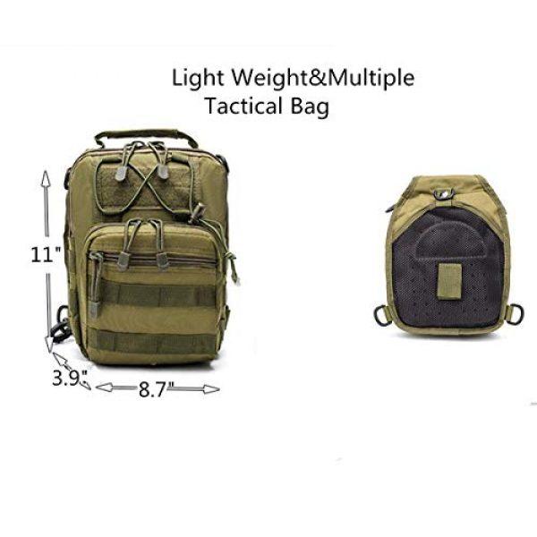 esbuy Tactical Backpack 5 Tactical Backpack Outdoor Shoulder Bag Satchel Sling Chest Packs Daypacks