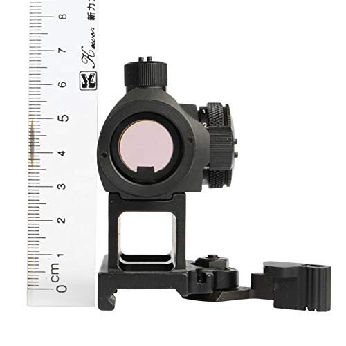 UELEGANS Rifle Scope 3 UELEGANS Tactical 2 MOA Red Dot Sight 1x24mm 10 Brightness Airsoft Sight Scope 20mm Rail Mount for Hunting and Shooting
