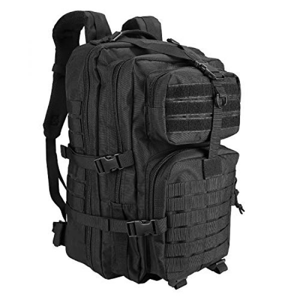 ProCase Tactical Backpack 1 ProCase Tactical Backpack 42L Large Rucksack 3 Day Outdoor Military Army Assault Pack Go Bag Backpacks -Black