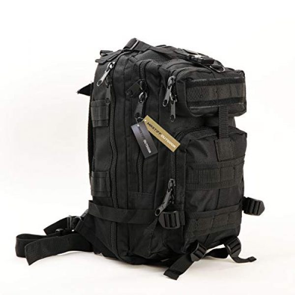 Mastiff Outdoor Tactical Backpack 1 Military Tactical Pack Backpack Army Molle Bug Out Bag Small Rucksack Outdoor Hiking Camping Trekking Hunting