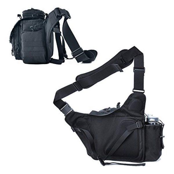 SHANGRI-LA Tactical Backpack 4 SHANGRI-LA Multi-functional Tactical Messenger Bag Camera Molle Assault Gear Sling Pack