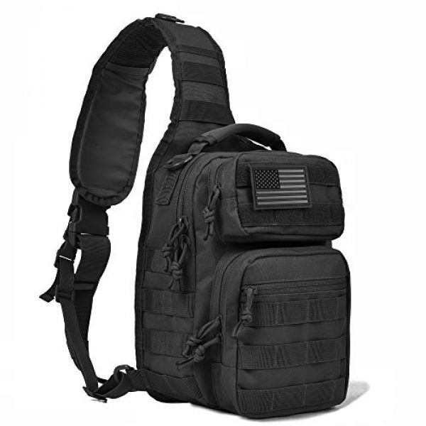 REEBOW GEAR Tactical Backpack 1 REEBOW GEAR Tactical Sling Bag Pack Military Rover Shoulder Sling Backpack