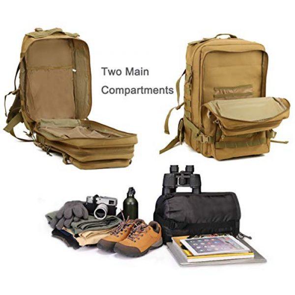 Luckin Packin Tactical Backpack 7 Luckin Packin Tactical Backpacks,Military Backpack,Rucksack Tactical Backpack,45 Liter Large