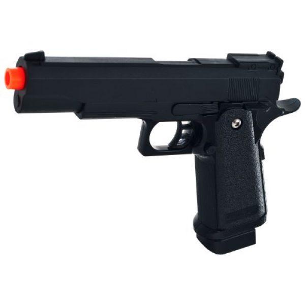 Whetstone Airsoft Pistol 1 Whetstone G.6 Zinc Alloy Shell Super Power Pistol, Black