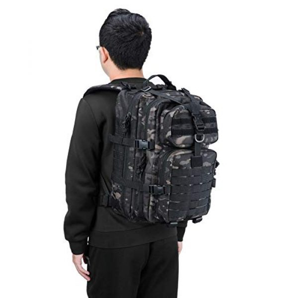 REEBOW GEAR Tactical Backpack 6 REEBOW GEAR Military Tactical Backpack Small Assault Pack Army Molle Bag Backpacks