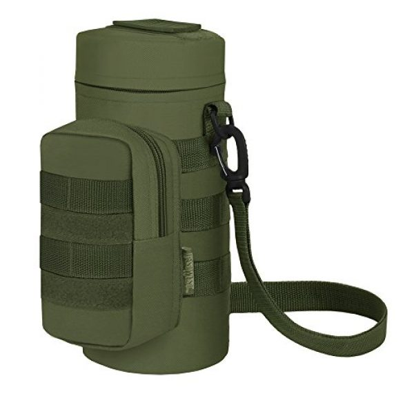 East West U.S.A Tactical Backpack 2 East West U.S.A RT521 Tactical Water Bottle Pouch Military Molle Pack Gear Waist Back Pack