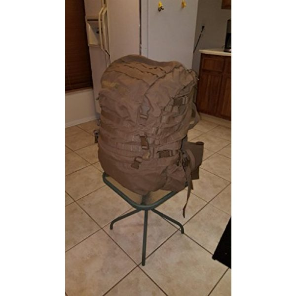 Eagle Tactical Backpack 3 Eagle FILBE USMC Main Pack Coyote Brown with Frame and Waist Belt
