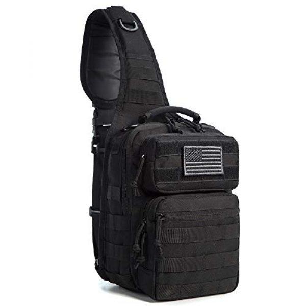 J.CARP Tactical Backpack 1 J.CARP Tactical Sling Bag Pack Military Rover Shoulder Sling Backpack Small