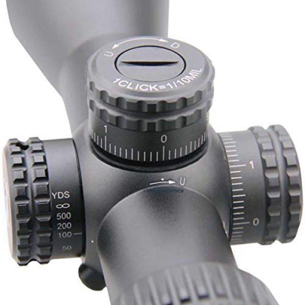 Vector Optics Rifle Scope 4 Vector Optics Veyron 3-12x44mm, 1/10 MIL, 30cm Tube, First Focal Plane (FFP) Ultra Short Riflescope