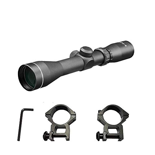 Persei Rifle Scope 4 Persei 2-7x42 Long Eye Relief Scope Rangefinder Reticle 30mm Tube Diameter Fits Mosin Nagant 1891/30 M39 with Mount Rings