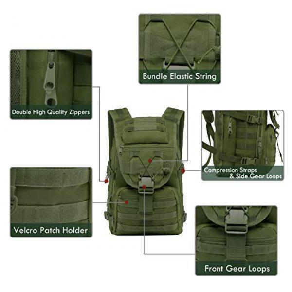 T1FE 1SFE Tactical Backpack 2 T1FE 1SFE Tactical Military Backpack Molle Backpack 35L Tactical Survival Bag Bugout Assault Pack Laptop Rucksack