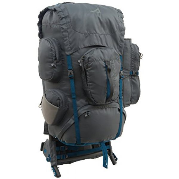 ALPS Mountaineering Tactical Backpack 1 ALPS Mountaineering Zion External Frame Pack, 64 Liters