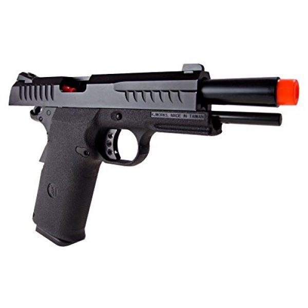 KJW Airsoft Pistol 4 KJW model-618 kp08 gas/co2 blowback full metal/black(Airsoft Gun)