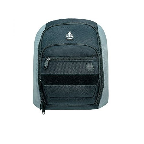 UTG Tactical Backpack 1 UTG Vital Chest Pack/Shoulder Sling Bag,Black/Gun Metal