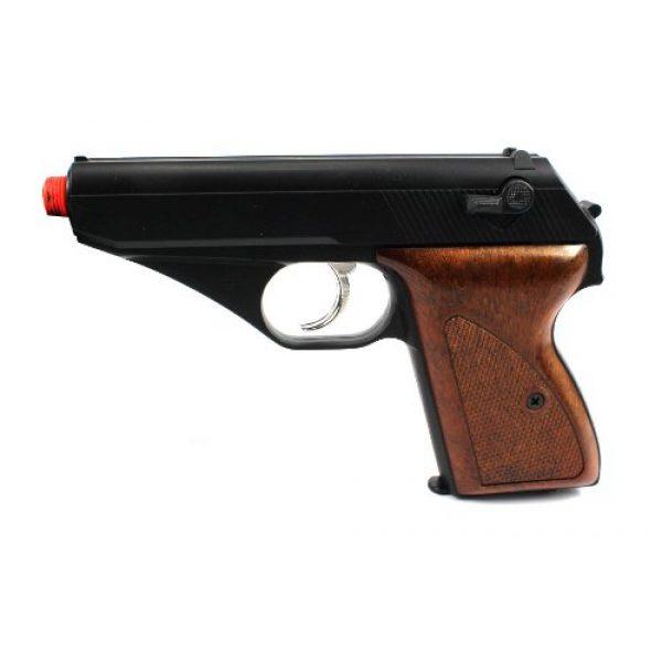 Velocity Airsoft Airsoft Pistol 3 HFC 106 gas airsoft pistol green gas semi auto fps-250 (black)(Airsoft Gun)