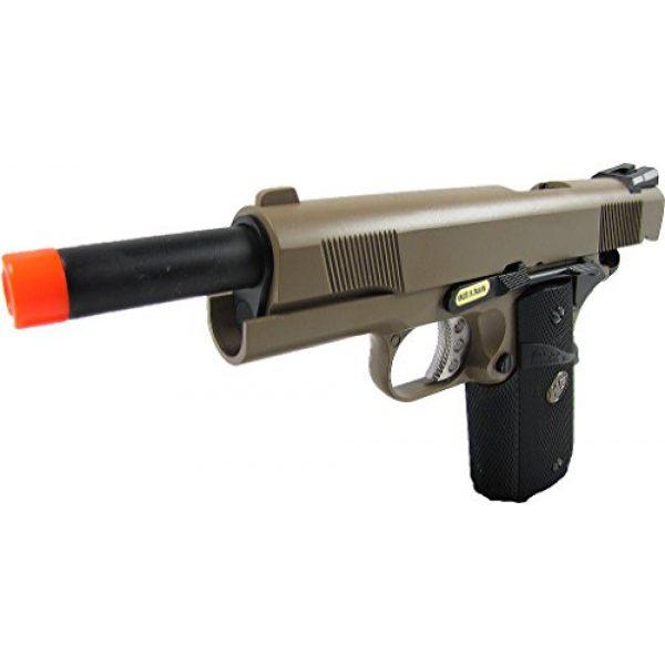WE Airsoft Pistol 3 WE meu 191 gas blowback full metal - tan(Airsoft Gun)