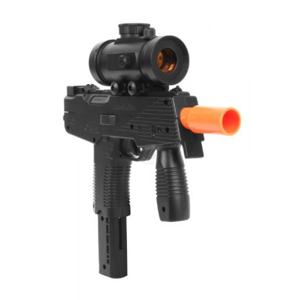DE Airsoft Pistol 3 airsoft deltaforce tactical ksr full size smg with electronic red dot scope(Airsoft Gun)