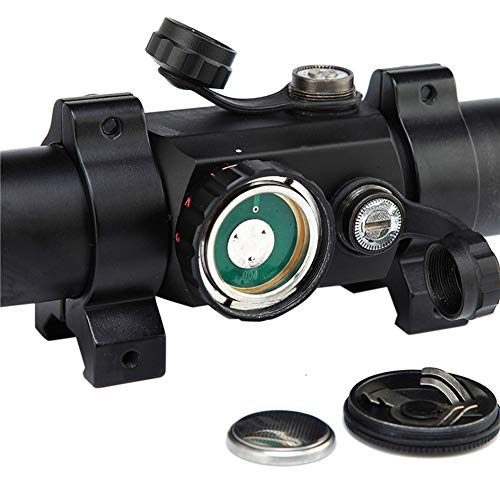 DJym Rifle Scope 5 DJym Non-Magnification Speed Sight Mirror HD Red Dot Aiming Blue Film Shockproof Waterproof Inner Red Dot Sight
