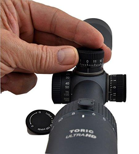 Tract Rifle Scope 7 Tract Toric 3-15x50 Riflescope w/BDC Reticle Long Range Hunting Optics