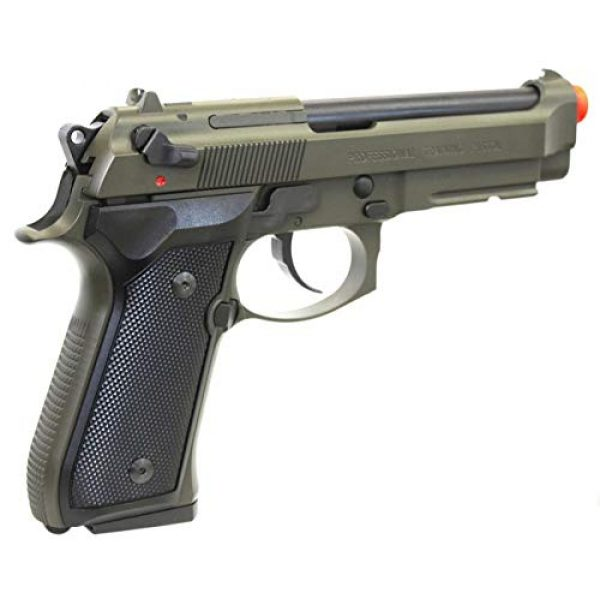 Soft Air Airsoft Pistol 4 Soft Air ANM Customs Cerakote KWA M9 Tactical PTP Gas Blowback Airsoft Pistol