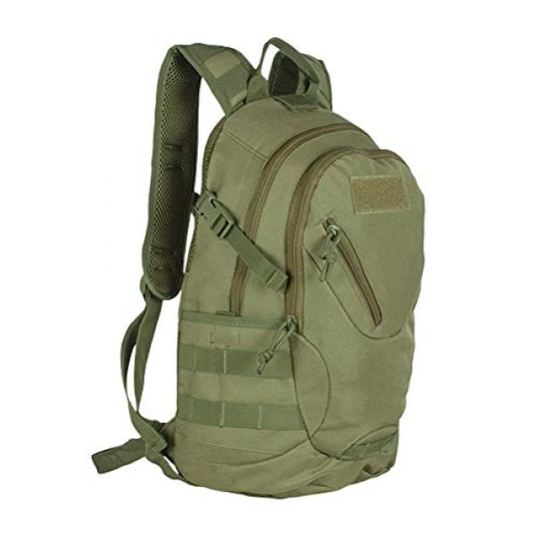 Fox Outdoor Tactical Backpack 1 Fox Outdoor 56-110 Scout Tactical Day Pack - Olive Drab, Multi, One Size