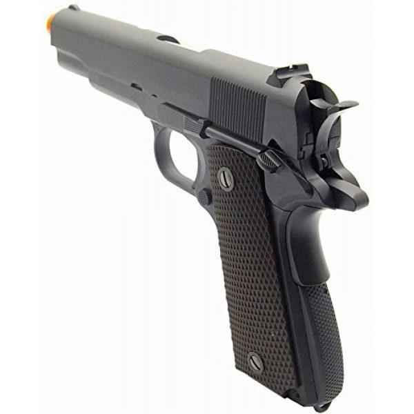 WE Airsoft Pistol 4 WE hi-capa 191 gas blowback full metal - black(Airsoft Gun)