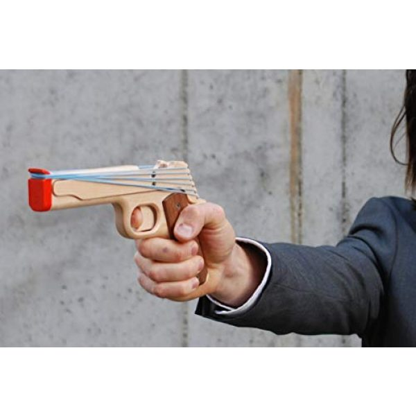 Elastic Precision Rubber Band Pistol 1911 Model 3 Elastic Precision Model 1911 Rubber Band Gun