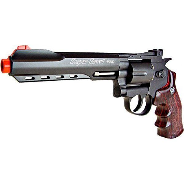 WG Airsoft Pistol 2 WG model-702b 6 revolver full metal co2 nbb included 6 revolver holster-nylon(Airsoft Gun)