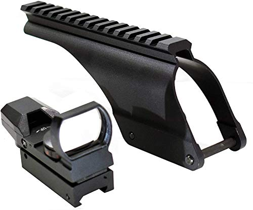 TRINITY Rifle Scope 3 TRINITY h&r 1871 Reflex Sight and Rail Mount kit