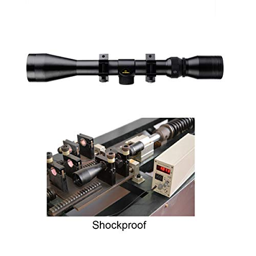SVBONY Rifle Scope 5 SVBONY SV120 Rifle Scope 3-9x40mm Compact Hunting Scope Waterproof with Free Ring Mounts Fits 20mm Picatinny Rails (Matte Black)