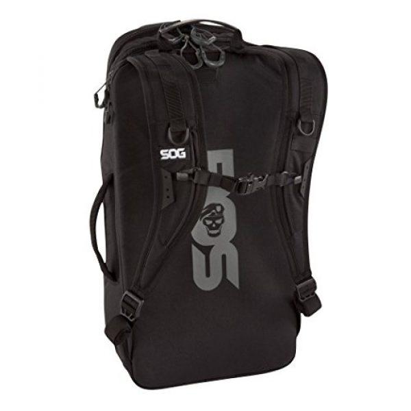 SOG Specialty Knives Tactical Backpack 2 SOG TOC Backpack CP1003B Black, 20 L