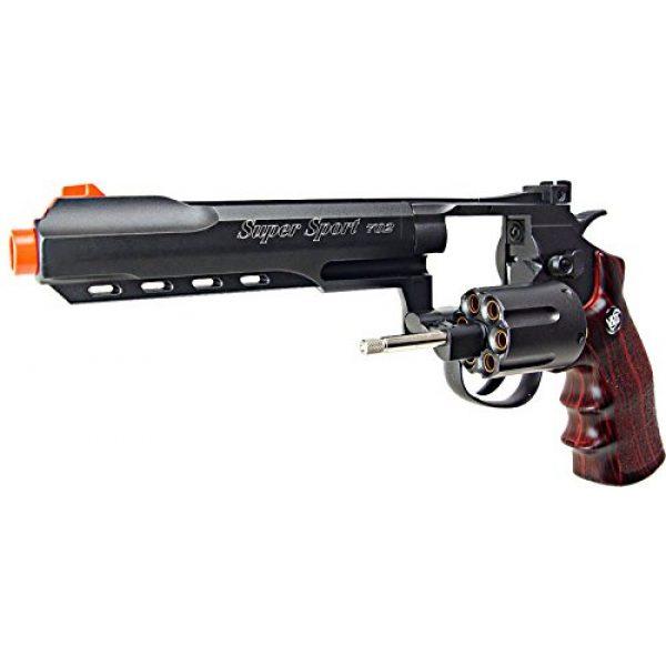 WG Airsoft Pistol 4 WG model-702b 6 revolver full metal co2 nbb included 6 revolver holster-nylon(Airsoft Gun)