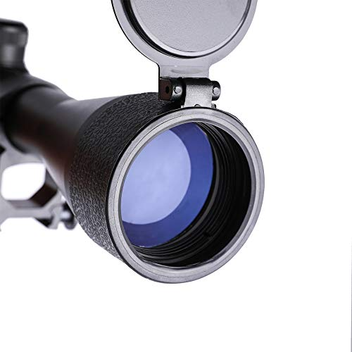 Letra Rifle Scope 3 LETRA Rifle Scope 3-9x40 Duplex Crosshair R4 Reticle with 20mm Free Mounts