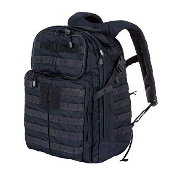 5.11 Tactical Backpack 4 5.11 Tactical RUSH24 Military Backpack, Molle Bag Rucksack Pack, 37 Liter Medium, Style 58601