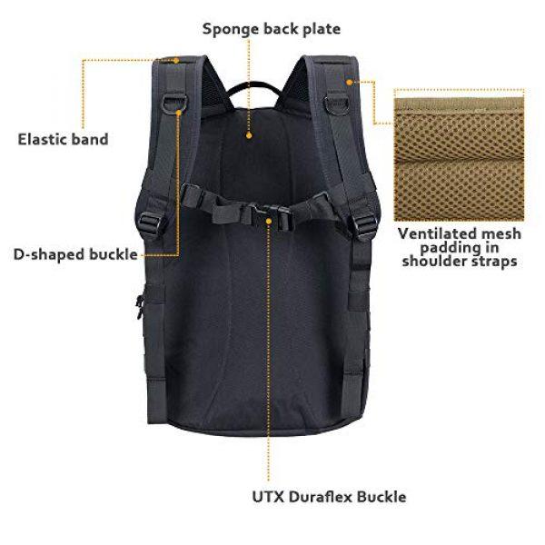 EXCELLENT ELITE SPANKER Tactical Backpack 5 EXCELLENT ELITE SPANKER Tactical Backpack Military Survival Rucksack 20L Capacity for Outdoor