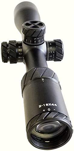 PRG Defense Rifle Scope 4 PRG Defense 45021644PRGPR2 Model 2-16x44RS Professional Riflescopes, 2X~16x Magnification, 44mm Objective Lens Diameter, 36mm Ocular Lens Diameter, 95-89mm Eye Relief, 8.2-2.75mm Exit Pupil