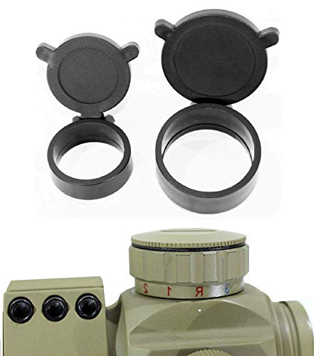Ahlmanstr Rifle Scope 6 Ahlmanstr Micro Rifle Scope 1x30 Blue Green Red Dot Sight with Cantilever Mount Fits Weaver Rails for Hunting Shooting Range Outdoors Tan Color