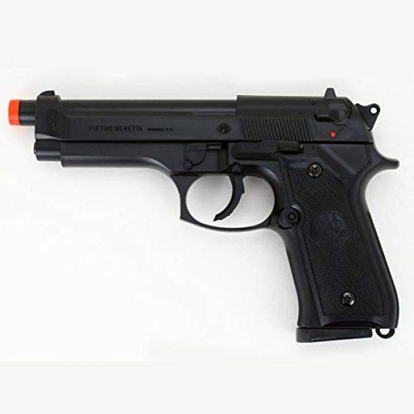 GUN STORM Airsoft Pistol 4 GUN STORM Beretta M92FS Plastic Toy BB Pistol, Powerful Hopup Airgun, Black