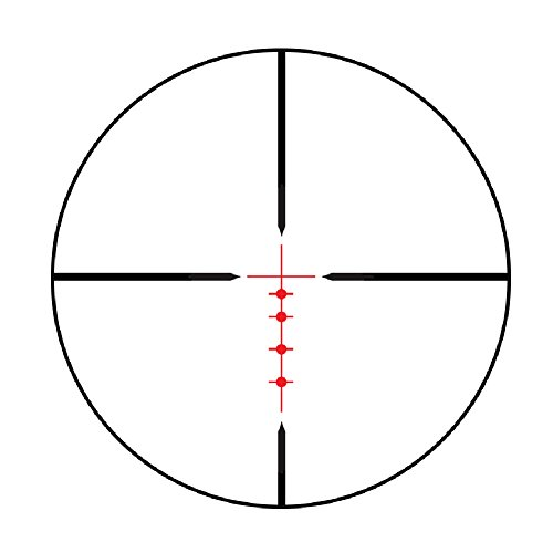 Bushnell Rifle Scope 2 Bushnell 614164C Cf 500 Banner Illumed Riflescopes Series Clam, 4-16 X 40, Matte Black