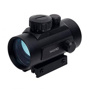 Fashion Sport Rifle Scope 1 Fashion Sport Optics Sight red dot riflescope Tactical 1X40 Illuminated Red Green Dot for Hunting
