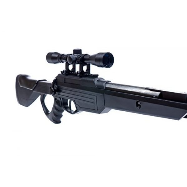 Bear River Air Rifle 5 Bear River TPR 1300 Suppressed Hunting Air Rifle - .177 Airgun - Pellet Gun with Scope and Silencer Included