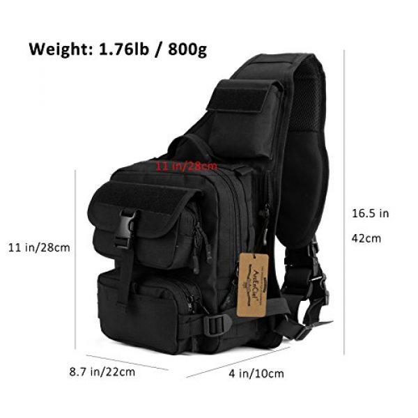 ArcEnCiel Tactical Backpack 6 ArcEnCiel Tactical Sling Pack Military Molle Chest Crossbody Shoulder Bags Motorcycle Backpack