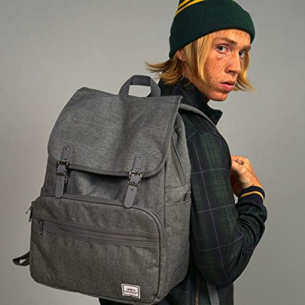 ULAK Tactical Backpack 3 ULAK Mini Backpack Lightweight Rucksack Slim Anti Theft Computer Bag