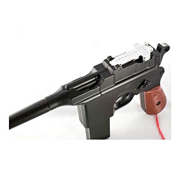MilSim Airsoft Pistol 3 New WW2 MAUSER BROOMHANDLE C96 German Airsoft Spring Hand Gun Pistol w/ 6mm BB
