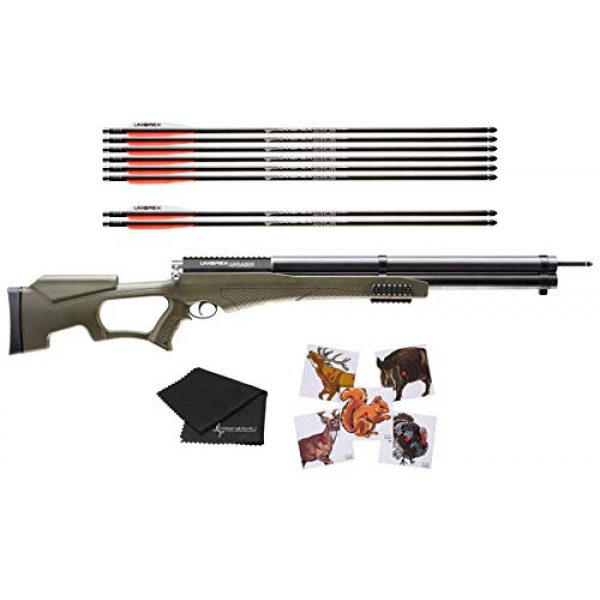 Wearable4U Air Rifle 1 Umarex AirSaber PCP Powered Arrow Air Rifle with 3 Carbon Fiber Arrows with Included Wearable4U Bundle